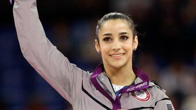 Raisman finishes Olympics in golden style