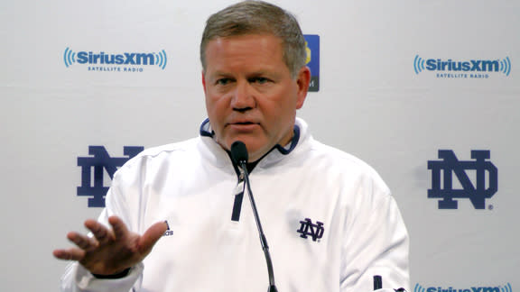 Kelly likes ND toughness