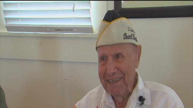 Pearl Harbor survivor talks about day Japanese bombed U.S.