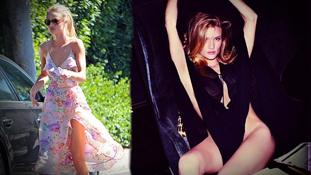 Steal Rosie Huntington-Whiteley's Summer Style (and See Her Sexy New Photos!)