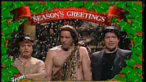 Season's Greeting from Tarzan, Tonto and Frankenstein