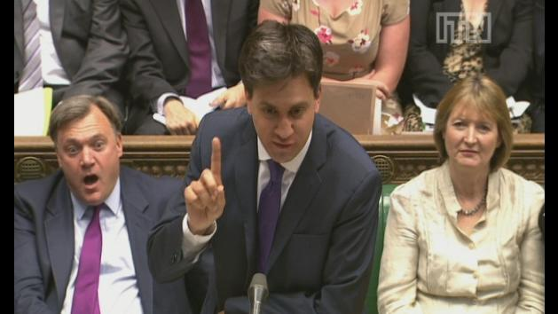 PMQs: Battle over party funding donations
