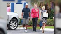 Lindsay Vonn Takes Tiger Woods' Kids to School