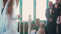Groom's touching vows to bride's daughter go viral