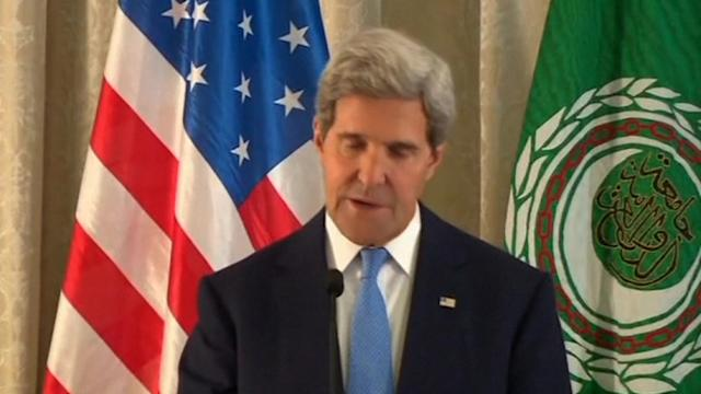 Kerry: Arab FMs in agreement about Assad's