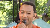 John Legend Jokes Fiance Now Forbids 'Cheatin' Songs'