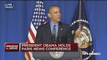 Pres. Obama:  Climate change is economic imperative