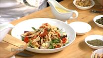 Chef Brando de Oliveira Makes A Tuscan Chopped Chicken and Vegetable Salad