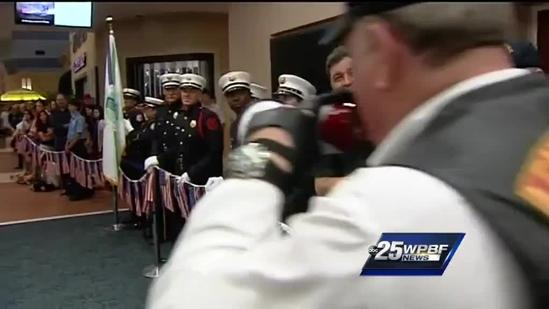 Local veterans return from viewing WWII memorial in Washington, D.C.