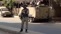 Egyptian security launches mission targeting police station's attackers