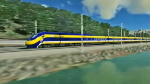 California high-speed rail system on track