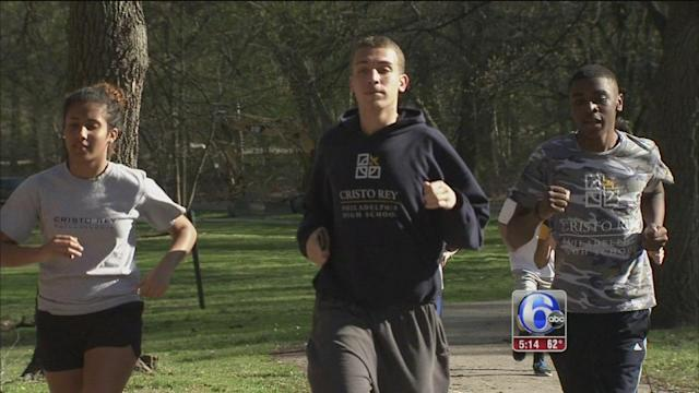 Student's life-changing path to Broad Street Run