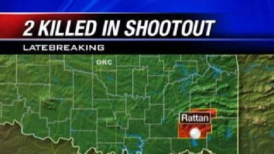 2 Killed In Shootout With Okla. Troopers