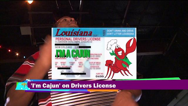 Louisiana drivers can add