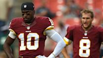 Will RG3 lose the starting job to Kirk Cousins?