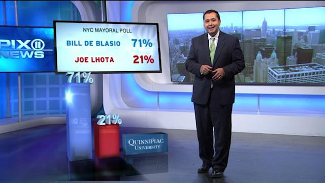 Mayor De Blasio? Dem Opens 50 Point Lead Over Lhota