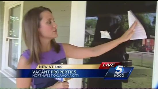 Vacant OKC homes costing taxpayers millions
