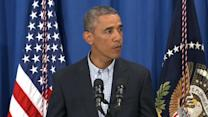 Obama calls for peace, transparency in Missouri after shooting