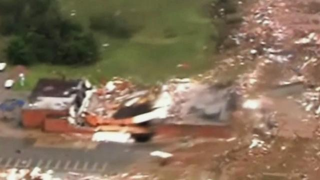 Oklahoma City manager: Tornado created