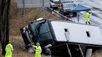 Bus Carrying Vt. Lacrosse Team Crashes in NY