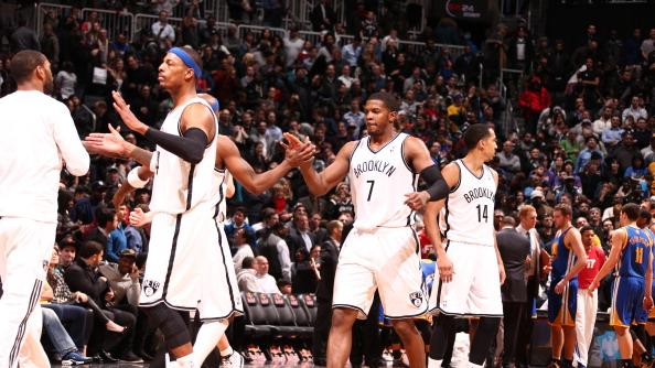 RADIO: Nets move into playoff position with big win over Warriors