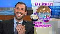 Maksim Chmerkovskiy Delivers Pop News for 'GMA'