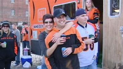 Bengals Fans Celebrate Steelers Rivalry