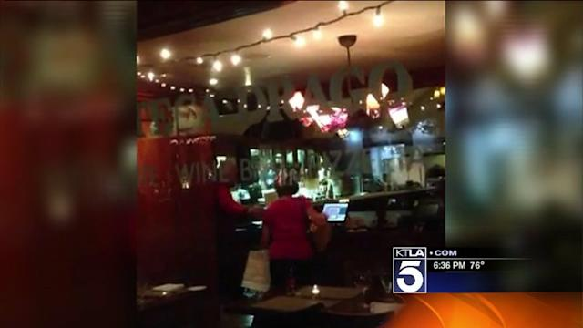Partially-Clad Man Arrested After Restaurant Rampage in Beverly HIlls