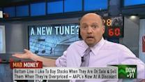 Buy low sell high, Apple included: Cramer