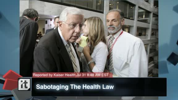 Medicare Breaking News: Sabotaging The Health Law