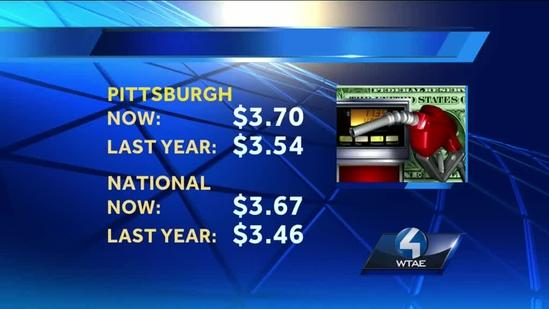 Unrest in Egypt means higher gas prices in Pennsylvania