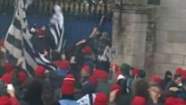 """Clashes erupt at """"ecotax"""" demo in France"""