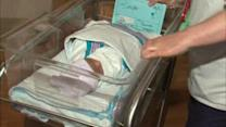 Woman gives birth at subway stop
