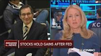 Santelli: Treasurys Fed reaction