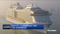 Royal Caribbean's customers spend more on ship