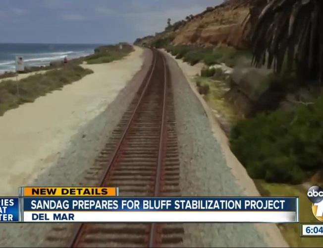 Plan to stabilize Del Mar bluffs underway
