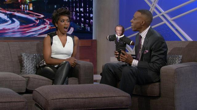 Angela Bassett Uses Her Voodoo Powers to Protect Arsenio From Aubrey O'Day
