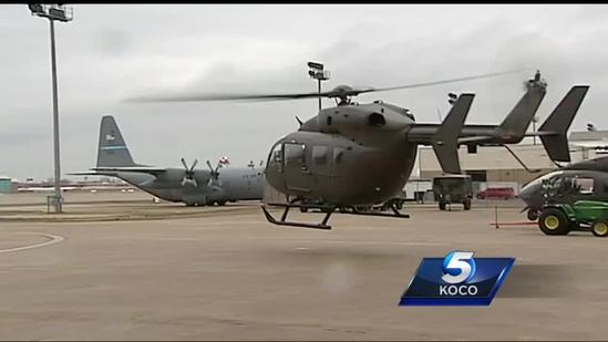 Oklahoma National Guard unveils new helicopters