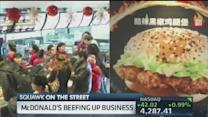 McDonald's beefs up China business