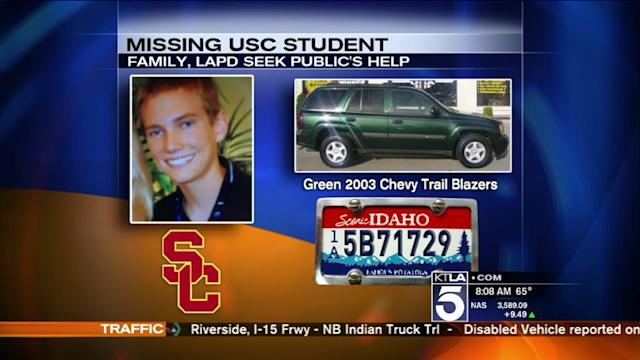 Search Continues for Missing USC Student