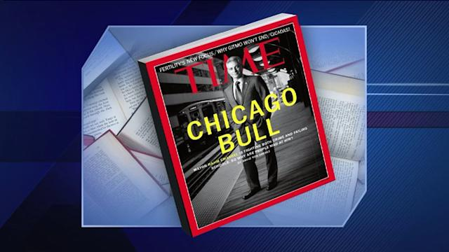 Mayor Emanuel on cover of Time magazine