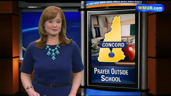 Mother told she can't pray on grounds of Concord High School