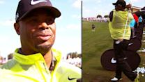 Ken Griffey Jr. tees it up for Nike Golf