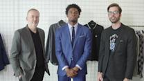 Dressing Justise Winslow:  Can You Re-Wear Your Draft Suit?