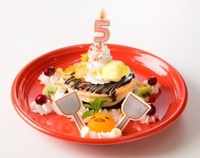 大阪「蛋黃哥咖啡」5th鬆餅