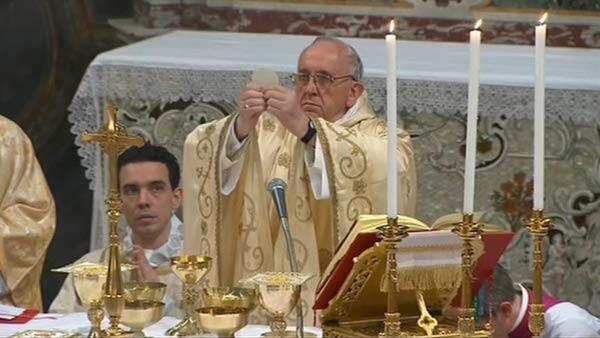Humility on Display for Pope's First Day