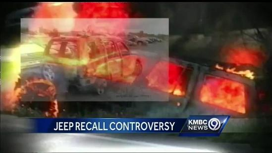 Jeep safety concerns focus on fuel tank location