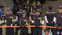 South Korea police in raid for fugitive ferry firm boss