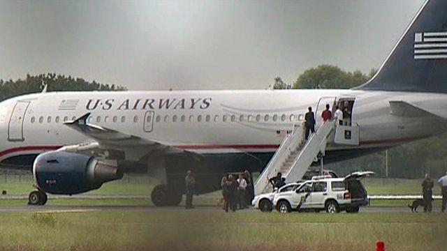 Man makes false report of bomb onboard US Airways flight