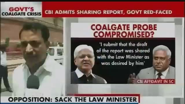 BJP reacts to CBI admitting it shared coal scam report with govt Part-2